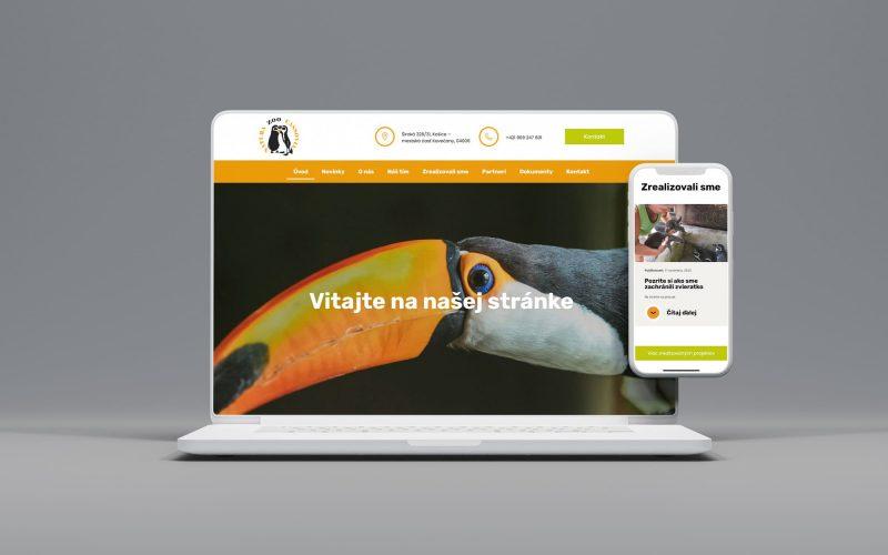 webstránka zoo